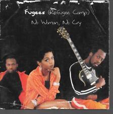 CD SINGLE 2 TITRES--FUGEES--NO WOMAN NO CRY--1996