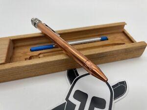 Grimsmo Knives SAGA Pen #1802 - Copper Body, Tip, Slider, Ti Clip - NEW!