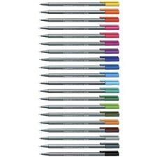 Staedtler 334 Triplus 48 Colors Fineliner Pen Stationery 0.3mm Drawing Sketch