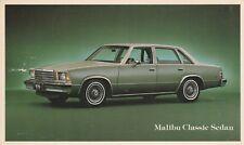 (R)  Automobiles - Chevrolet Malibu Classic Sedan - Model Year Not Cited