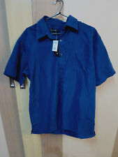LOWES NAVY BUTTON UP COLLAR SHIRT SIZE S