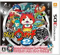 Nintendo 3DS Yokai Watch 2 Ganso Yo-kai Youkai Japan Free Shipping