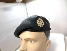 ORIGINAL ROYAL AIR FORCE   BERET & BADGE SIZE 58 RAF