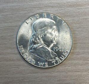 1963 Franklin Half Dollar BU