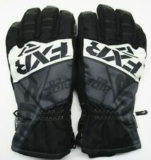 FXR Racing Black/Charcoal/White Fuel Short Cuff Gloves - 190805-1001-07