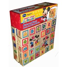 Disney Mickey and Minnie Clubhouse Learn and Grow Blocks (Wic 350647)