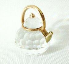 New ListingRetired Swarovski Crystal Glass Miniature Teapot Kettle Memories Figurine Charm