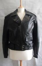 Goth Leather 1980s Vintage Coats & Jackets for Women