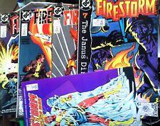 FIRESTORM 20, 84 to 87: FIVE DC COMICS 1984 & 1989 VF-VG COMBINE/SAVE P&P