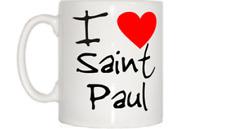 I love coeur Saint Paul Mug