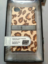UUNIQUE SAFARI HARD BACK CASE COVER FOR APPLE iPHONE 4 4S - ANIMAL SKIN DESIGNS
