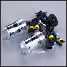 2XCar HID Xenon Headlight Lamp Light For H1 15K 15000K 55W Bulbs Deep Blue New