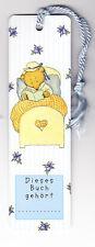 Lesezeichen arsEdition - Teddy im Bett, Ida Bohatta