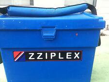 """Zziplex Tackle Box Sticker/Decal 300mm x 50mm (12"""" x 2"""") Superb L@@K."""