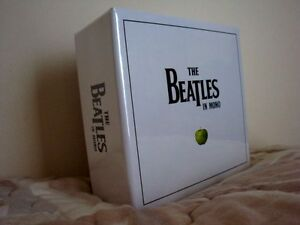 THE BEATLES IN MONO MASTERS-ORIGINAL ISSUE CD BOX SET--RARE & FACTORY SEALED