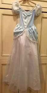 Story Book Princess Cinderella Halloween Costume Ball Gown One Size Fits All