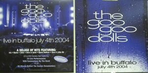 Goo Goo Dolls 2004 Live Buffalo 2 Sided promo poster/flat Flawless New Old Stock