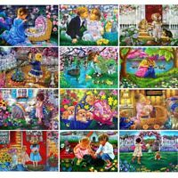 Children DIY Full Drill 5D Diamond Painting Embroidery Cross Stitch Craft Kit