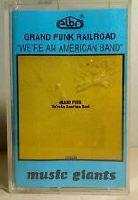 MC GRAND FUNK RAILROAD We're An American Band cassette polish edition (dancop)