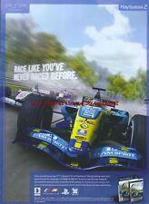 "F1 06 ""Race Like Youve Never Raced Before"" 2006 Magazine Advert #4714"