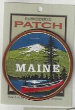 Maine Souvenir Patch Maine 004