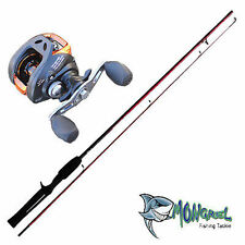 NEW Baitcaster Rod & Reel Combo 1.7 meter rod, Bait Caster, LEFT HAND RETRIEVE