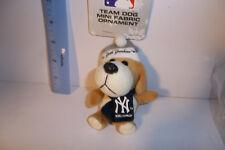 7273a769b06 NEW YORK YANKEES MLB Team Dog Christmas TREE ORNAMENT 4-5
