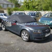 AUDI TT SOFT TOP ROOF HOOD HALF COVER 2000-2006 - BLACK - 136