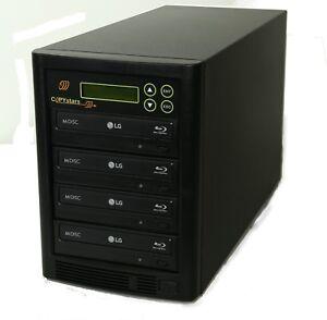 Copystars Blu-Ray Burner Drive CD DVD Duplicator 16X BD-R MDisc Media Disc Tower