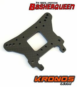 Basherqueen Carbon Fiber Shock Tower Front Team Corally Kronos XTR 5mm
