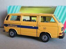 795A Schabak Modell 1040 VW Volkswagen Caravelle T3 Syncro Lufthansa 1:43 Box