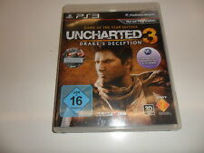 PlayStation 3 PS 3 Uncharted 3-Drake 's decepción (game of the Year)