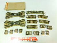 BU196-1# 18x Märklin H0/00/AC Gleis/Kreuzung M-Gleis f. 3600/800 sehr gut 1x OVP