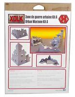Xolk, Urban Warzone Kit A, Miniature Wargaming Scenery Kit, 28mm Scale, New