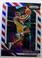 2018 18-19 Panini Red White Blue Prizm Kobe Bryant #15, Refractor, RWB, Lakers