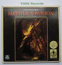 SAWT 9572/75-A - BACH - St Matthew Passion HARNONCOURT - Ex Con 4 LP Record Set