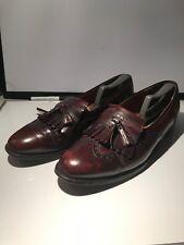 4616b8f5161845 Cole Hann Pinch tassel Men s Loafer Burgundy Leather 12 D Made in U.S.A.