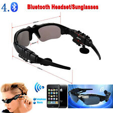 Wireless Bluetooth Polarized Sunglasses Headset Headphone for iPhone 6S Samsung