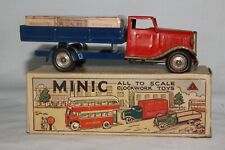 1950's Triang Minic Delivery Truck with Original Cases, Original Box