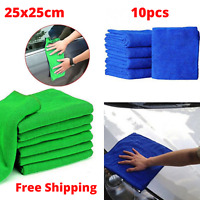 25x25cm Wash Microfiber Towel Home Car Wash Cleaning Drying Cloth Accessories
