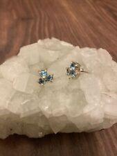 sterling silver turquoise earrings Stud