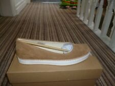 Ladies UGG Womens Kammi Ballet Flat Suede Shoes Chestnut.Size 4.5 uk.New Boxed
