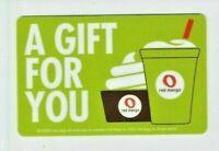 Red Mango Gift Card - Frozen Yogurt / Smoothie Restaurant - No Value - I Combine