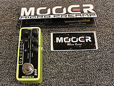 Mooer Micro Preamp 006 Classic Deluxe Guitar Effects Pedal Based on Fender Blues