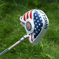 USA Flag Magnet Mallet Putter Cover Headcover For Scotty Cameron Odyssey 2ball