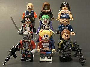 DC Comics Custom Suicide Squad Movie Minifigures Moc Lego US SELLER
