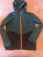 Mens Ski Jacket Mountain Warehouse Medium - Blue/Black/Orange - Good Condition