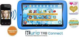 Kurio Tab Connect 7-Inch Tablet - (Blue) (AMD A8 8127 Processor, 1 GB RAM, 16 GB