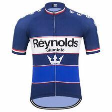 Reynolds aluminio cycling Short Sleeve Jersey Cycling Jersey