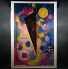 "Wassily Kandinsky, Multicolored Resonance 36""x 51"" Frame - FREE CHICAGO PICKUP"